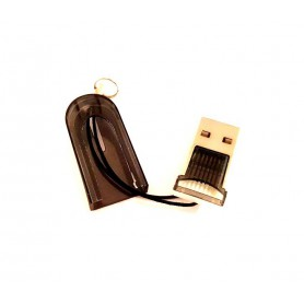 Dolphix, Micro SD MMC SDHC TF T-flash USB Memory Card Reader/Writer, SD and USB Memory, YPU206-CB, EtronixCenter.com