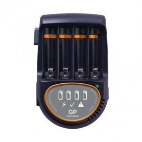 GP, Încărcător rapid GP 2h pentru baterii + 4x AA 2600mAh ReCyko + 2700 Series, Încărcătoare de baterii, BL216, EtronixCenter...