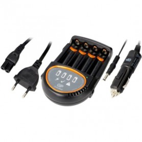 GP, 2h GP Batterij Snellader + 4x AA 2600mAh ReCyko+ 2700 Series, Batterijladers, BL216, EtronixCenter.com