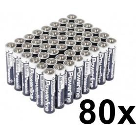 Panasonic - Panasonic Powerline Industrial LR6/AA BULK - Size AA - BL132-CB www.NedRo.us
