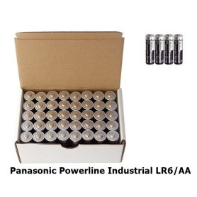 Panasonic, Panasonic Powerline Industrial LR6/AA BULK, AA formaat, BL132-CB, EtronixCenter.com