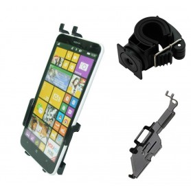 Haicom - Haicom bicycle phone holder for Nokia Lumia 1320 HI-325 - Bicycle phone holder - ON5137-SET www.NedRo.us