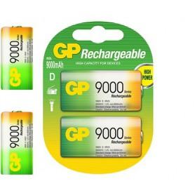 GP - GP 1.2V D / HR20 9000mAh NiMh baterie reîncărcabilă - Format XL C D - BS106-CB www.NedRo.ro