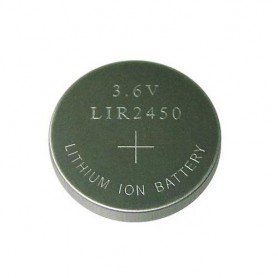 BSE - BSE LIR2450 3.6V 120mAh rechargeable Li-ion button cell battery - Button cells - BS110-C www.NedRo.us