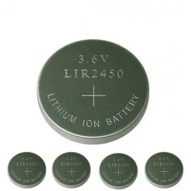 BSE - BSE LIR2450 3.6V 120mAh oplaadbare Li-ion knoopcel batterij - Knoopcellen - BS110-C www.NedRo.nl