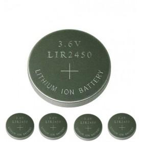 BSE, BSE LIR2450 3.6V 120mAh baterie plată reîncărcabilă Li-ion, Baterii plate, BS110-CB, EtronixCenter.com
