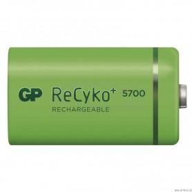 GP - GP Recyko+ 1.2V D / HR20 5700mAh NiMh baterie reîncărcabilă - Format XL C D - BS108-CB www.NedRo.ro