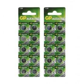GP - GP LR44/76A/V13GA/A76 1.5v baterie alcalină plată - Baterii plate - BS112-CB www.NedRo.ro