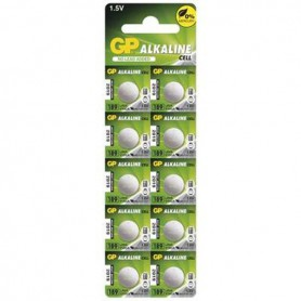 GP G10 / LR54 / 189 / AG10 Alkaline button cell battery