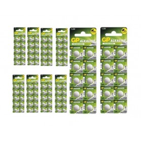 GP - GP G10 / LR54 / 189 / AG10 Alkaline button cell battery - Button cells - BS113-CB