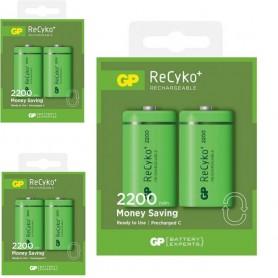 GP, GP 1.2V C/HR14 2200mah NiMh 2200 Series baterie reîncărcabilă, Format XL C D, BS114-CB, EtronixCenter.com
