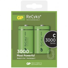 GP - GP 1.2V C/HR14 3000mah NiMh 3000 Series oplaadbare batterij - C D en XL formaat - BS115-CB www.NedRo.nl