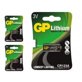 GP - GP CR123 CR123A DL123A EL123A CR17345 baterie cu litiu - Alte formate - BS102-CB www.NedRo.ro