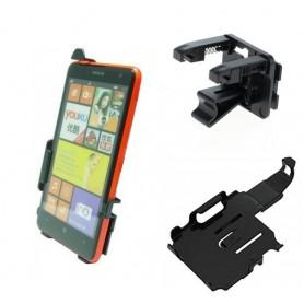 Haicom, Auto Ventilator Haicom klem houder voor Nokia Lumia 625 Hi-300, Auto ventilator telefoonhouder, ON5150-SET, EtronixCe...