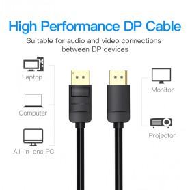 Vention - Displayport DP Male naar Displayport Male Kabel - Displayport en DVI kabels - V034-2M www.NedRo.nl