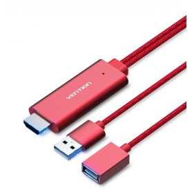 Vention - USB naar HDMI converter adapterkabel VENTION PREMIUM - Samsung datakabels  - V036-CB www.NedRo.nl