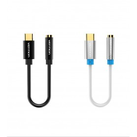 Vention, USB Type-C to Female 3.5mm Audio Cable Adapter, Audio cables, V037-CB, EtronixCenter.com