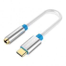 Vention - USB Type-C to Female 3.5mm Audio Cable Adapter - Audio cables - V037-SI www.NedRo.us