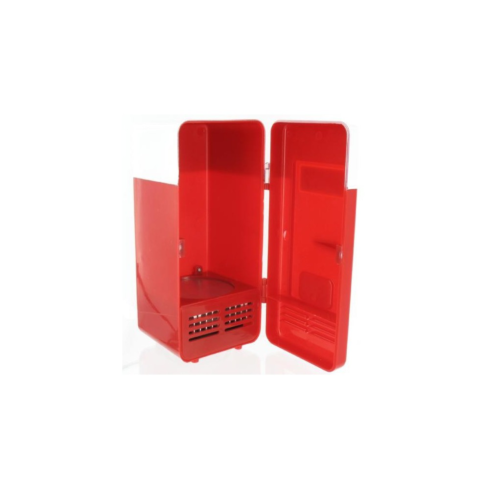 NedRo - USB Mini fridge Red - Computer gadgets - YPU801-C www.NedRo.de