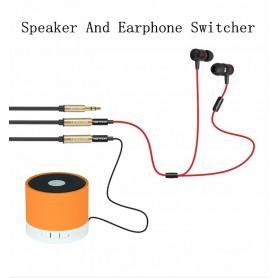 Vention - Dual 3.5mm Female naar Male Audio Jack 3.5mm Y Splitter - Audio adapters - V040-60 www.NedRo.nl