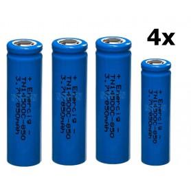 Enercig - Enercig 14500 2.4A 850mAh Oplaadbare batterij Unprotected - Andere formaten - NK370-4x www.NedRo.nl