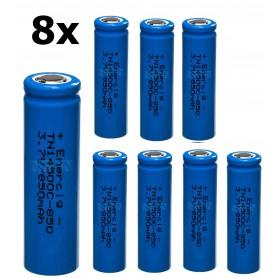 Enercig - Enercig 14500 2.4A 850mAh Oplaadbare batterij Unprotected - Andere formaten - NK370-8x www.NedRo.nl
