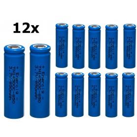 Enercig - Enercig 14500 2.4A 850mAh Oplaadbare batterij Unprotected - Andere formaten - NK370-12x www.NedRo.nl