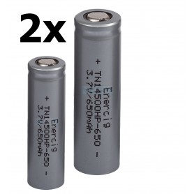 Enercig - Rechargeable battery Enercig 14500 650mAh - 13A Li-ion - Other formats - NK371-CB www.NedRo.us