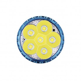 OLIGHT, Olight X9R Marauder 6x CREE XHP70.2 LED-uri Lanterna 25000 Lumeni reîncărcabilă cu acumulator 6000mAh 14.4V Li-Ion, L...