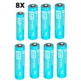 OLIGHT - Acumulator 18650 li-ion 3000mAh 15A dedicat H2R - Format 18650 - NK373-CB www.NedRo.ro