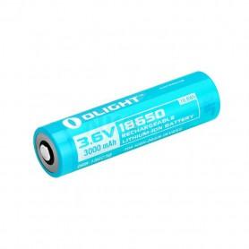 OLIGHT - Olight 3000mAh 3.6V 18650 Rechargeable Li-ion Battery - Size 18650 - NK373-CB www.NedRo.us