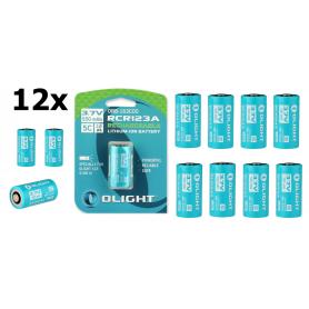 OLIGHT - Baterie Olight RCR123A 550mAh pentru S1R si S10RIII - Alte formate - NK374-CB www.NedRo.ro