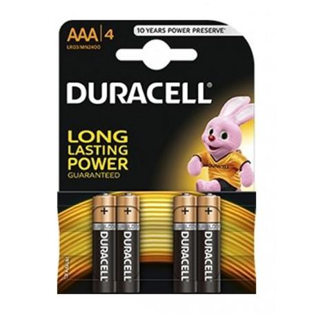 Duracell - Duracell Basic LR03 / AAA / R03 / MN 2400 1.5V alkaline battery - Size AAA - BL060-CB