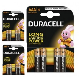 Duracell, Duracell Basic LR03 / AAA / R03 / MN 2400 1.5V alkaline battery, Size AAA, BL060-CB, EtronixCenter.com