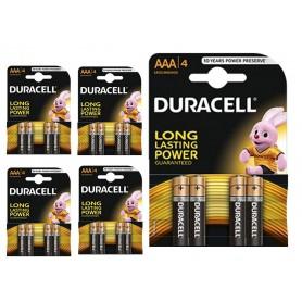 Duracell - Duracell Basic LR03 / AAA / R03 / MN 2400 1.5V alkaline batterij - AAA formaat - BL060-5x www.NedRo.nl