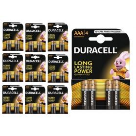 Duracell - Duracell Basic LR03 / AAA / R03 / MN 2400 1.5V alkaline batterij - AAA formaat - BL060-10x www.NedRo.nl