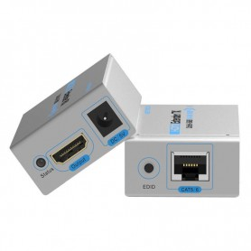 Vention, Vention 60M HDMI Ethernet Extender Dublu TX cu receptor Launcher Cat5 / 6 RJ45 HD 1080p / 1080i / 720p, HDMI adaptoa...