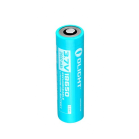 OLIGHT - Olight 2600mAh 3.6V 18650 Rechargeable Li-ion Battery for R20 - Size 18650 - NK377 www.NedRo.us