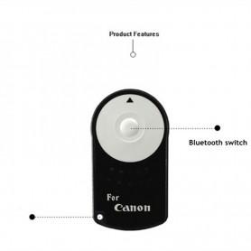 NedRo - RC-6 RC6 IR Infrarood Draadloze Afstandsbediening voor Canon Camera - Foto-video accessoires - AL224 www.NedRo.nl