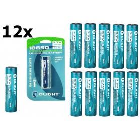 OLIGHT - Olight 2600mAh 3.6V 18650 Rechargeable Li-ion Battery for M-serie - Blister - Size 18650 - NK378 www.NedRo.us