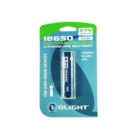 OLIGHT - Olight 18650 2600mAh oplaadbaar accu voor M-serie - Blister - 18650 formaat - NK378-CB www.NedRo.nl