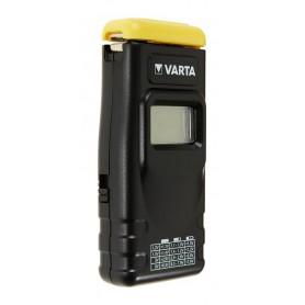Varta - VARTA Digital AA/AAA/C/D/9V Wegwerp en Oplaadbaar Batterij Tester - Batterijen accessories - BS139 www.NedRo.nl