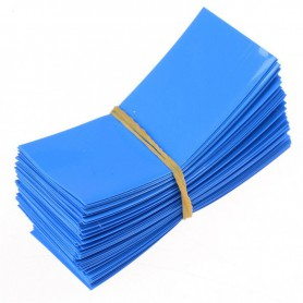 NedRo - 50 Pieces 72/30mm 18650 Battery PVC Heat Shrink Tubing Tube Wrap - Battery accessories - NK382 www.NedRo.us