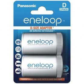 Panasonic Eneloop Adapter AA R6 naar D Mono R20