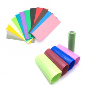 NedRo, 50 Pieces 72/30mm 18650 Battery PVC Heat Shrink Tubing Tube Wrap, Battery accessories, NK382-CB, EtronixCenter.com