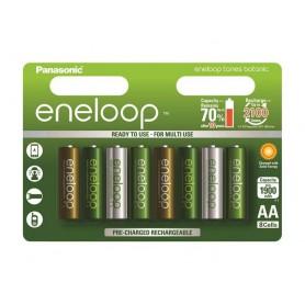 Eneloop - AA 8-Pack Panasonic Eneloop Botanic Limited Edition - AA formaat - NK266-3x www.NedRo.nl