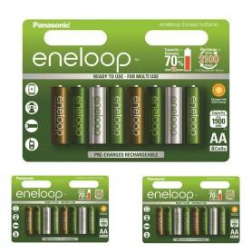 Eneloop - AA 8-Pack Panasonic Eneloop Botanic Limited Edition - Format AA - NK266-CB www.NedRo.ro