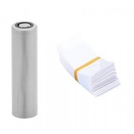 NedRo, 50 Bucăți 72/30mm tuburi PVC termocontractabile pentru Baterii 18650, Accesorii pentru baterii, NK382-CB, EtronixCente...