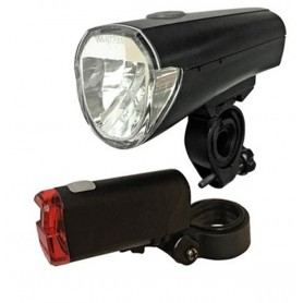 arcas, Arcas Bikelight set incl. 4x AA + 2x AAA batteries, Flashlights, BS145, EtronixCenter.com
