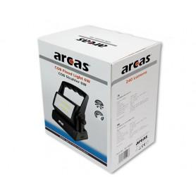 arcas - Arcas 6W 2x COB LED's Bouwlamp met 240 lumen aangedreven door 3x D-batterijen - Zaklampen - BS146 www.NedRo.nl